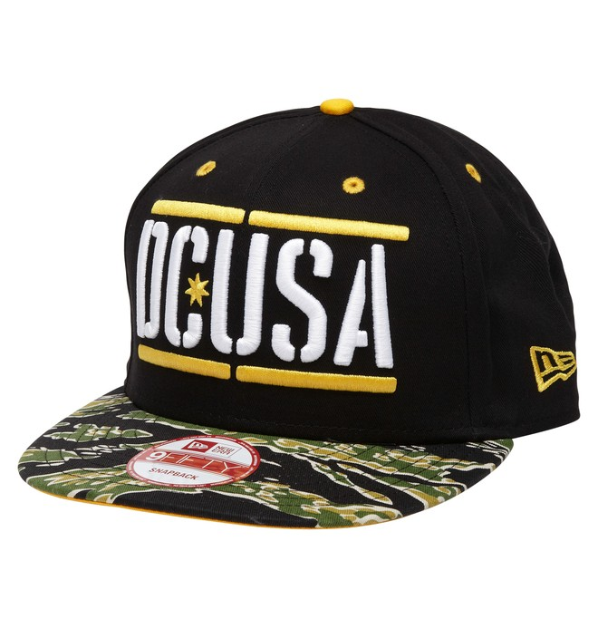 0 Men's Rob Dyrdek Stencil Snapback Hat  ADYHA00174 DC Shoes
