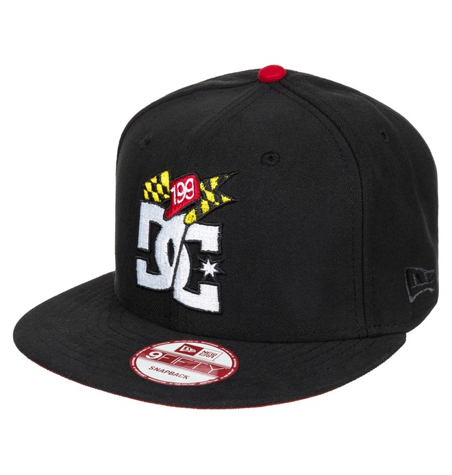 0 Men's Travis Pastrana Winner Snapback Hat  ADYHA00222 DC Shoes