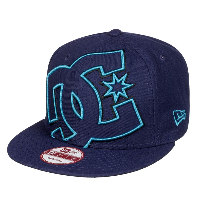 0 Double Up - Cap Blue ADYHA00277 DC Shoes