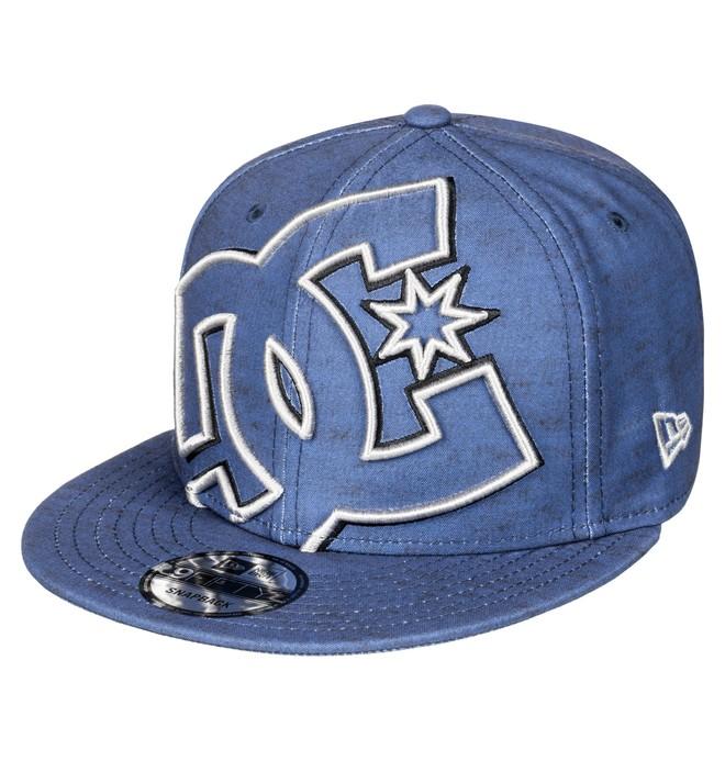 0 Men's Double Up Snapback Hat Blue ADYHA00277 DC Shoes