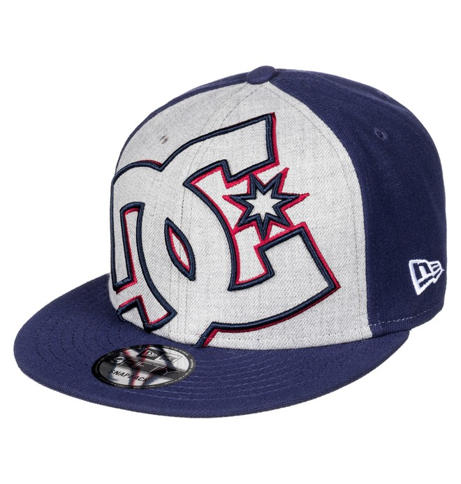0 Double Up - Snapback Cap Blue ADYHA00277 DC Shoes
