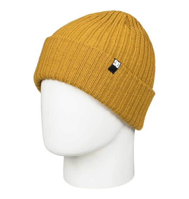 0 Men's Fish N Destroy Beanie Yellow ADYHA03004 DC Shoes