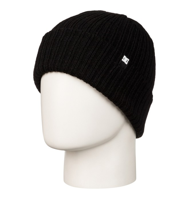0 Men's Fish N Destroy Beanie Black ADYHA03004 DC Shoes