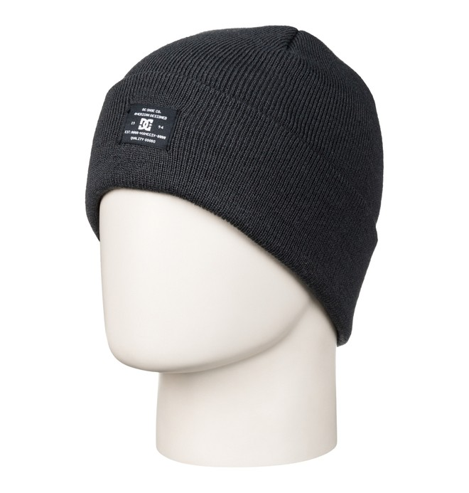 0 Men's Portspy Beanie Black ADYHA03006 DC Shoes