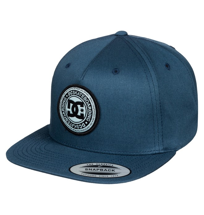 0 Men's Stapler Hat Blue ADYHA03010 DC Shoes