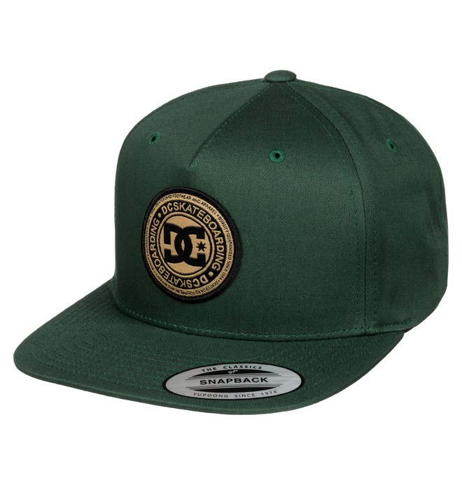 0 Men's Stapler Hat Green ADYHA03010 DC Shoes