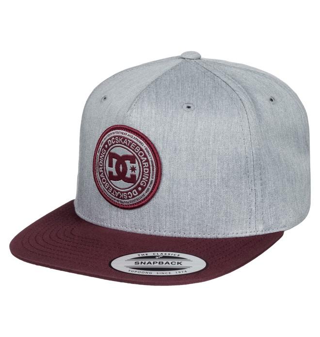 0 Men's Stapler Hat Grey ADYHA03010 DC Shoes