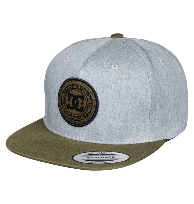 0 Men's Stapler Hat Grey ADYHA03010 DC Shoes
