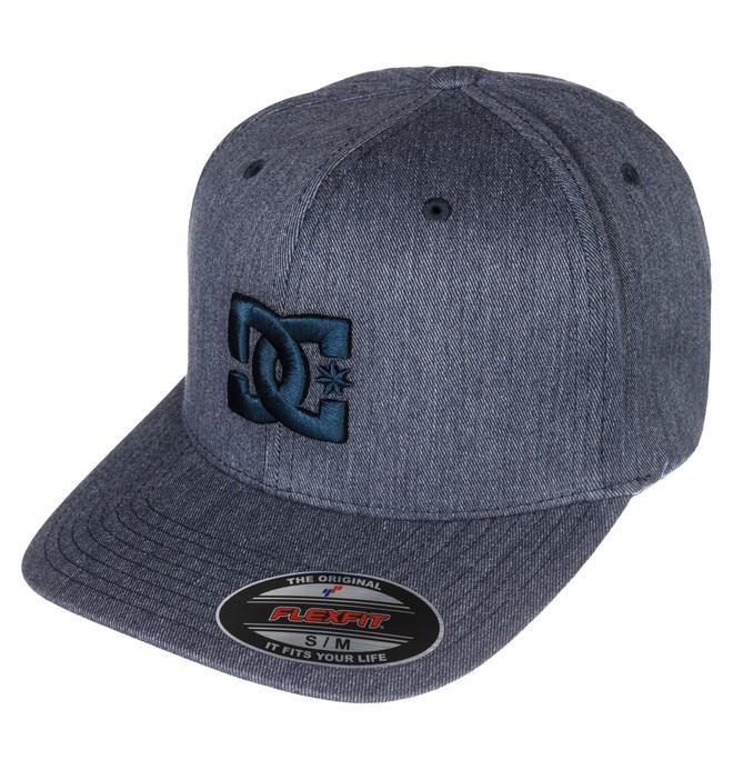 0 Men's Cap Star TX Flexfit Hat  ADYHA03063 DC Shoes