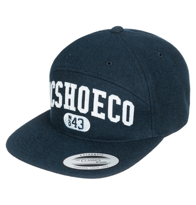 0 Men's Archers 5-Panel Arch Shape Hat Blue ADYHA03104 DC Shoes