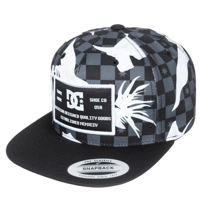 0 Men's Kradle 5-Panel Snapback Hat  ADYHA03115 DC Shoes