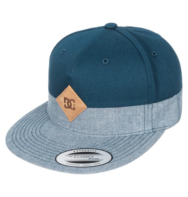 0 Men's Halfer 5-Panel Structured Strapback Hat  ADYHA03118 DC Shoes