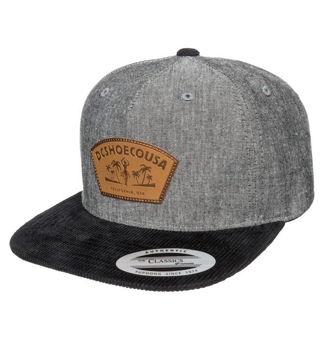 0 Faced Out - 5-Panel Snapback Cap  ADYHA03146 DC Shoes