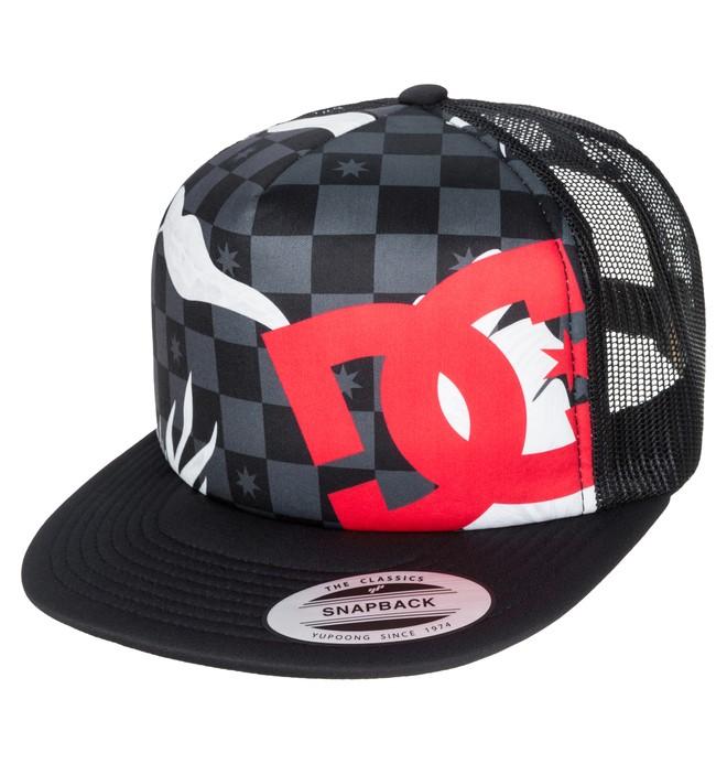 0 Men's Lanai Hat Foam Front Trucker Hat  ADYHA03159 DC Shoes