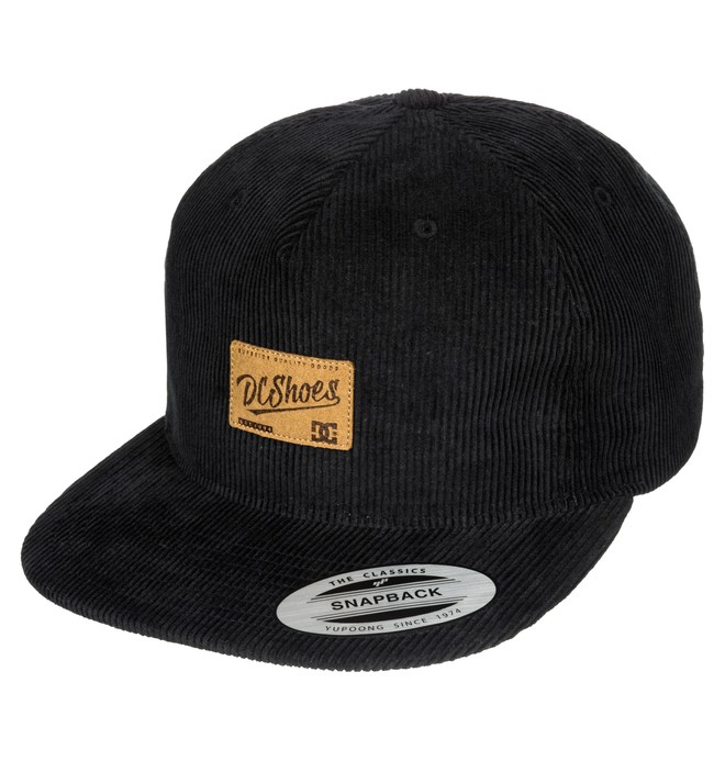 0 Wes Cord Cap - 5-Panel Snapback Cap  ADYHA03182 DC Shoes