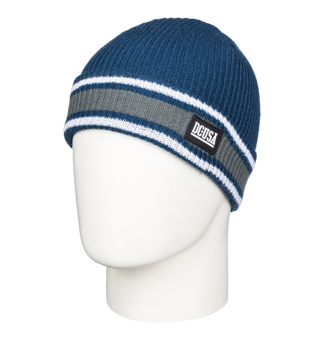 0 Men's RD Alumni Stripe Beanie  ADYHA03221 DC Shoes