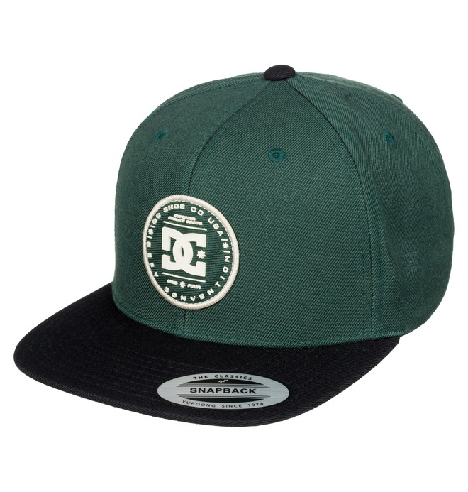 0 Men's Circulate Snapback Hat  ADYHA03240 DC Shoes