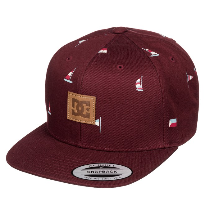 0 Brills - Snapback Cap Red ADYHA03244 DC Shoes
