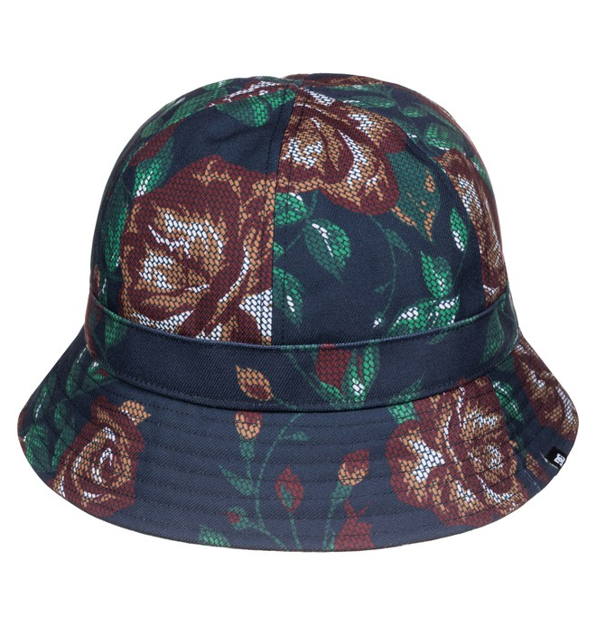 0 Flagstill - Bucket Hat Blue ADYHA03251 DC Shoes
