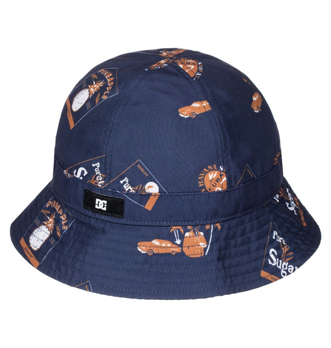 0 Men's Rum Bucket Hat  ADYHA03262 DC Shoes