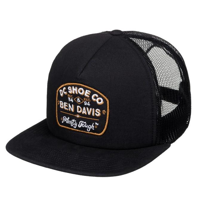 0 Ben Davis X DC Tough Trucker - Trucker Cap Black ADYHA03288 DC Shoes