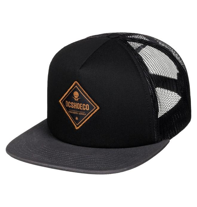 0 Men's Carlson Trucker Hat  ADYHA03343 DC Shoes
