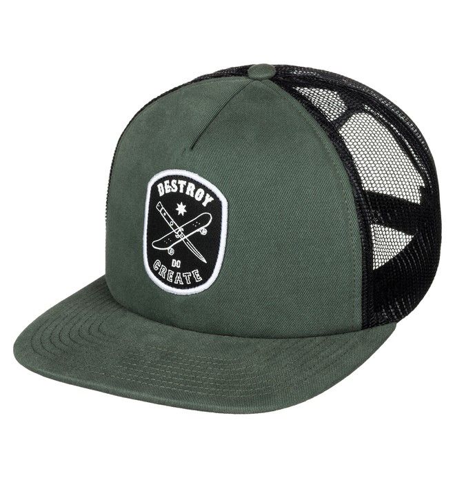 0 Tearbait - Trucker Cap  ADYHA03349 DC Shoes