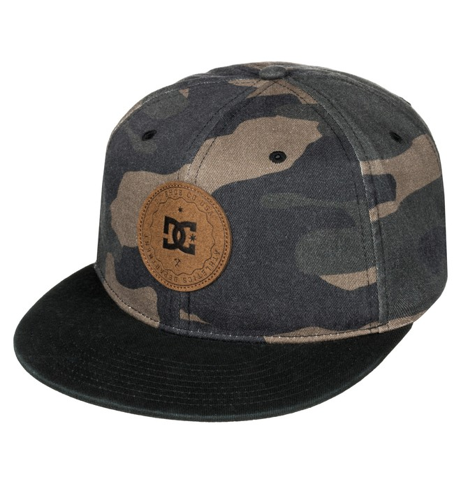 0 Cambo - Snapback Cap Black ADYHA03350 DC Shoes