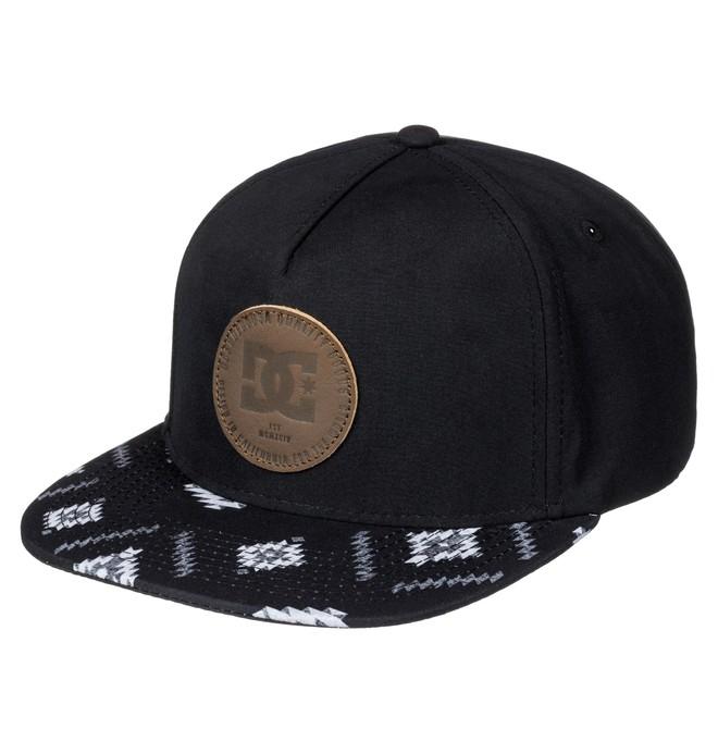 0 Swerver - Snapback Cap Black ADYHA03352 DC Shoes