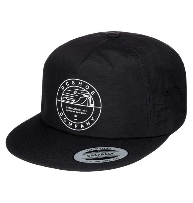 0 Men's Twanger Snapback Hat  ADYHA03356 DC Shoes