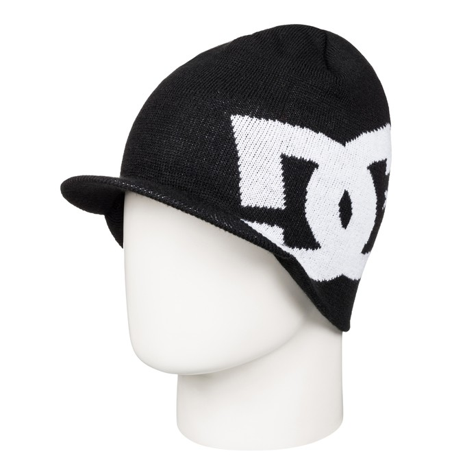 0 Big Star - Visor beanie Black ADYHA03375 DC Shoes