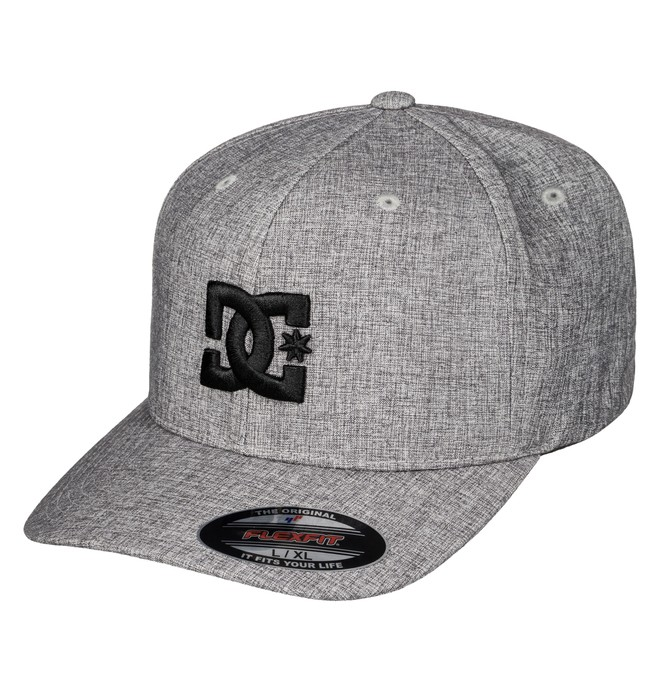 0 Men's Hatstar TX Hat Grey ADYHA03387 DC Shoes