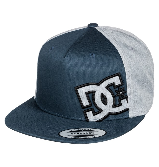 0 Men's Heard Ya Hat Blue ADYHA03389 DC Shoes