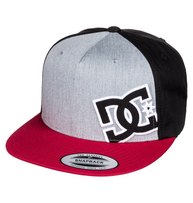0 Men's Heard Ya Hat Red ADYHA03389 DC Shoes