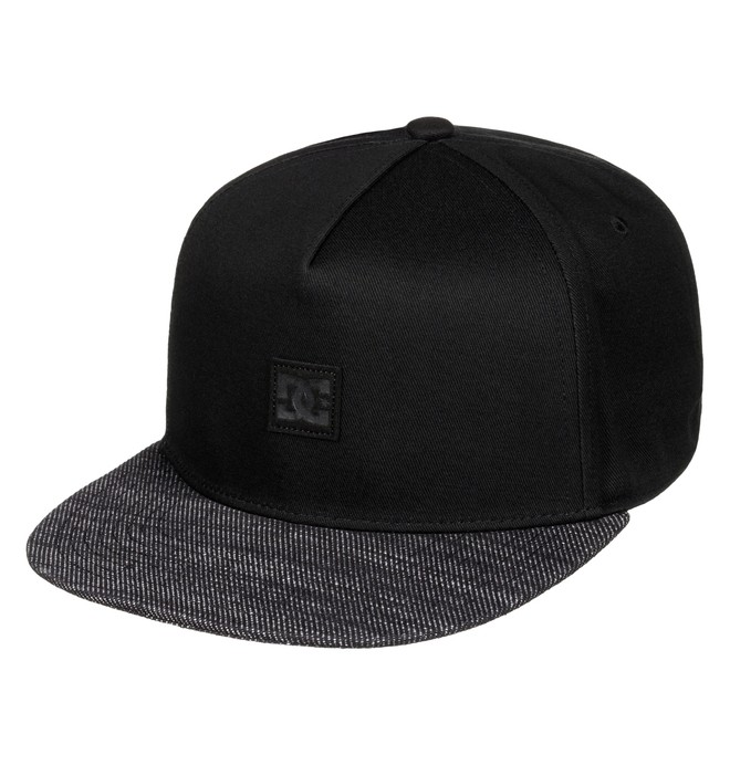 0 Men's Partner Hat Black ADYHA03398 DC Shoes