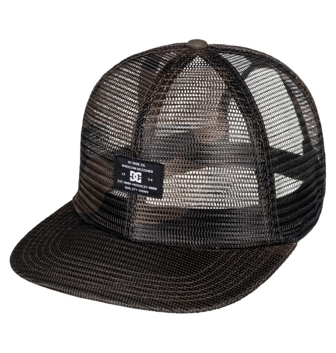 0 Men's Mesho Hat Black ADYHA03399 DC Shoes