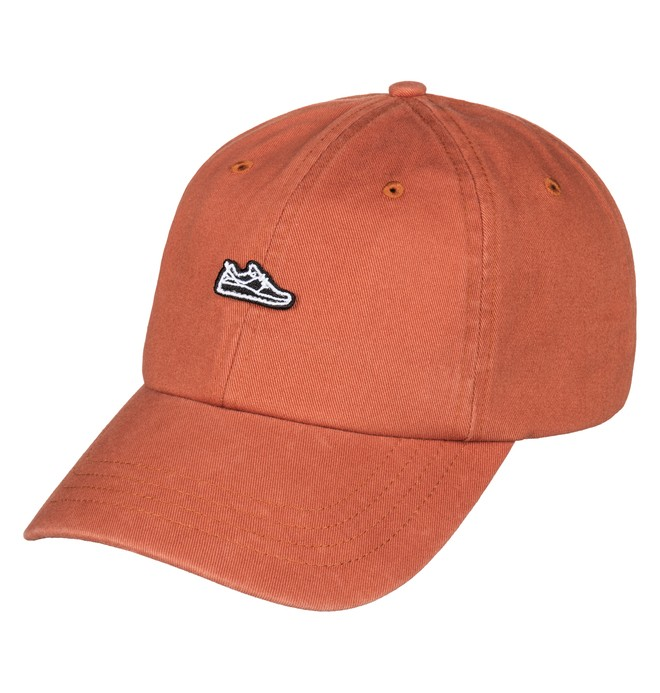 0 Men's Uncle Jeff Strapback Hat Orange ADYHA03414 DC Shoes