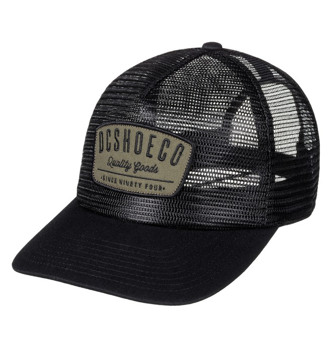 0 Men's Carnoble Trucker Hat Black ADYHA03421 DC Shoes