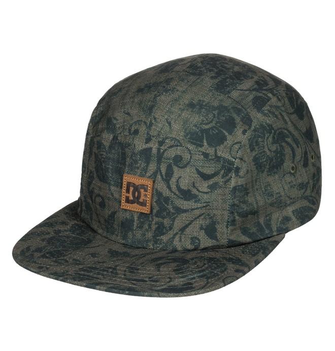 0 Men's Stover Camper Hat Green ADYHA03424 DC Shoes