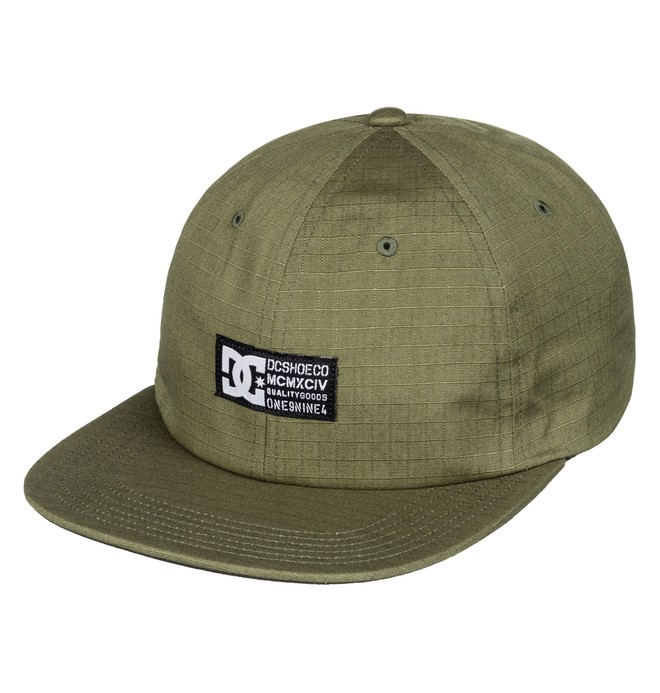 0 Men's Seargy Snapback Hat Brown ADYHA03431 DC Shoes