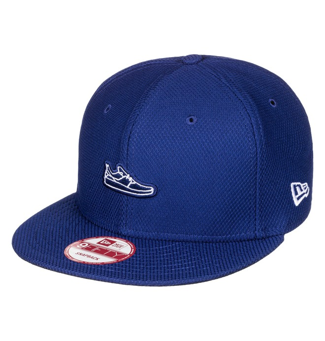 0 Shoey - Snapback Cap Blue ADYHA03435 DC Shoes