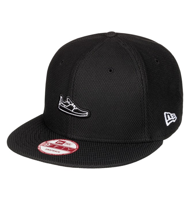 0 Shoey - Snapback Cap Black ADYHA03435 DC Shoes