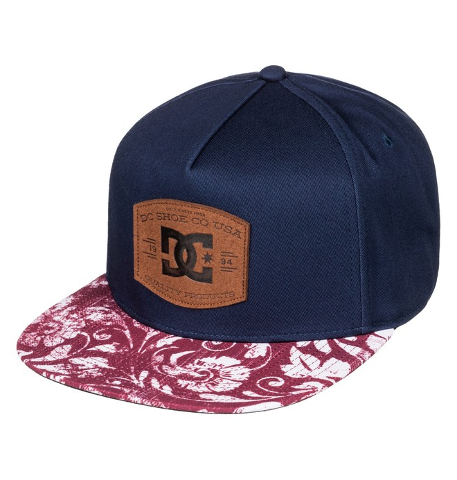 0 Men's Regal Snapback Hat Blue ADYHA03436 DC Shoes