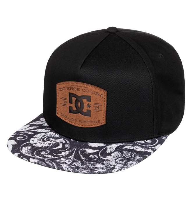 0 Men's Regal Snapback Hat Black ADYHA03436 DC Shoes