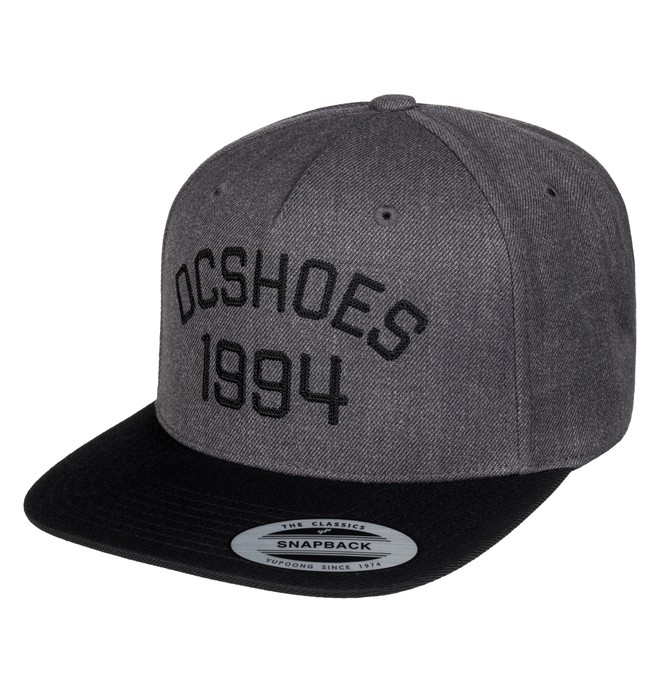 0 Men's Fellis Snapback Hat Black ADYHA03437 DC Shoes