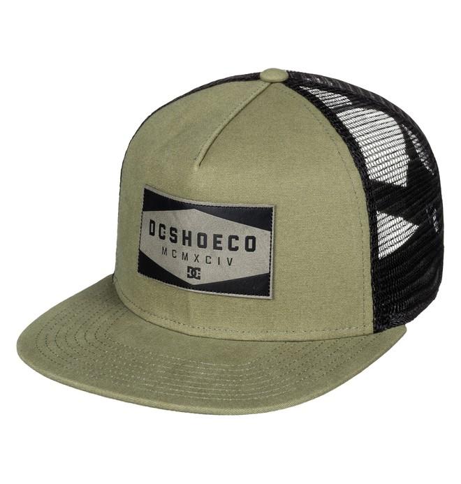 0 Men's Workstill Trucker Hat Beige ADYHA03438 DC Shoes