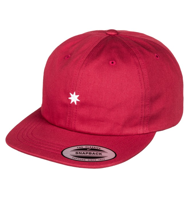 0 Skate Deconstructed - Casquette strapback Rouge ADYHA03441 DC Shoes