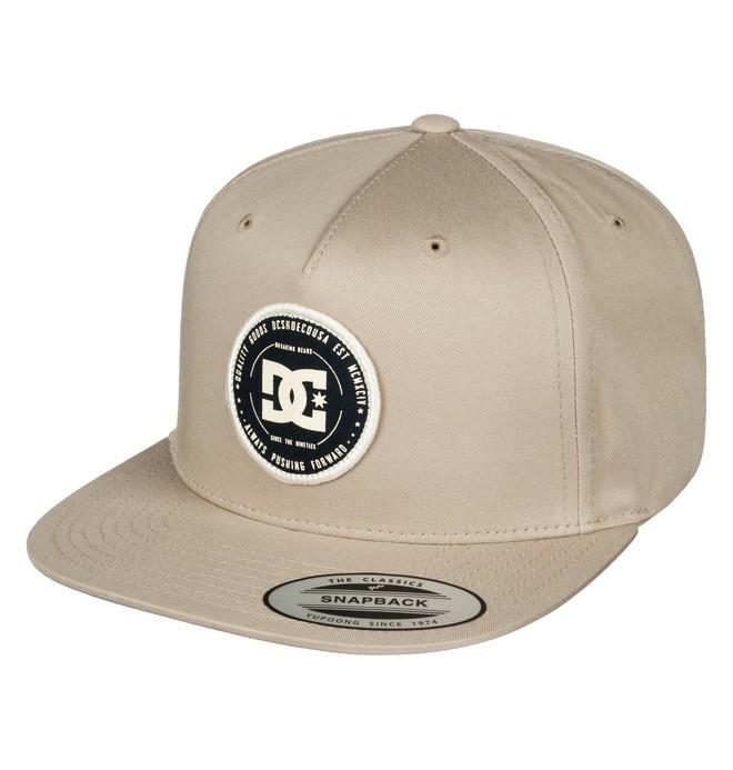 0 Men's Rebuilter Snapback Hat Green ADYHA03448 DC Shoes