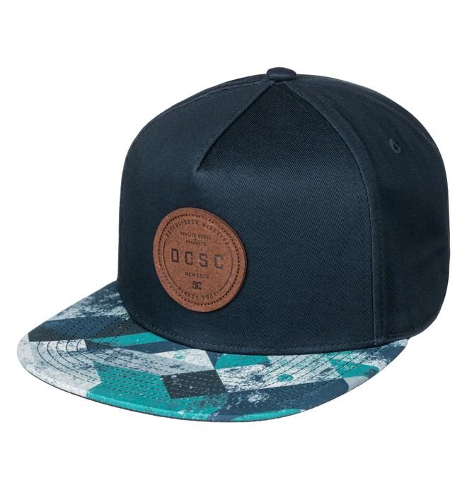 0 Geosense - Snapback Cap Blue ADYHA03449 DC Shoes