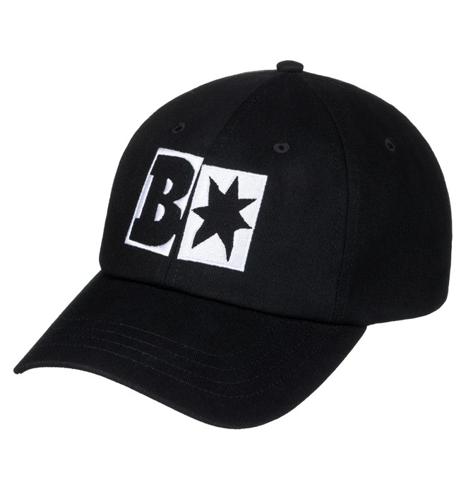 0 Men's Baker X DC Decon Baseball Hat Black ADYHA03468 DC Shoes